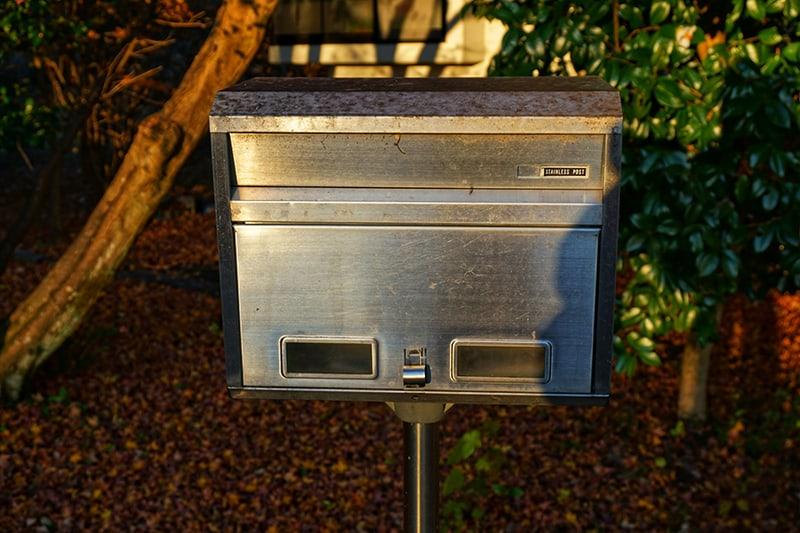 Cast Aluminium Mailboxes