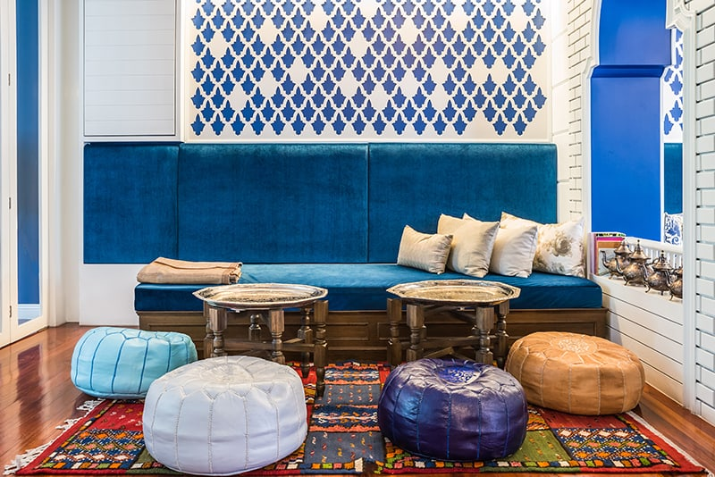 Decorating the Living Room in Moroccan Style