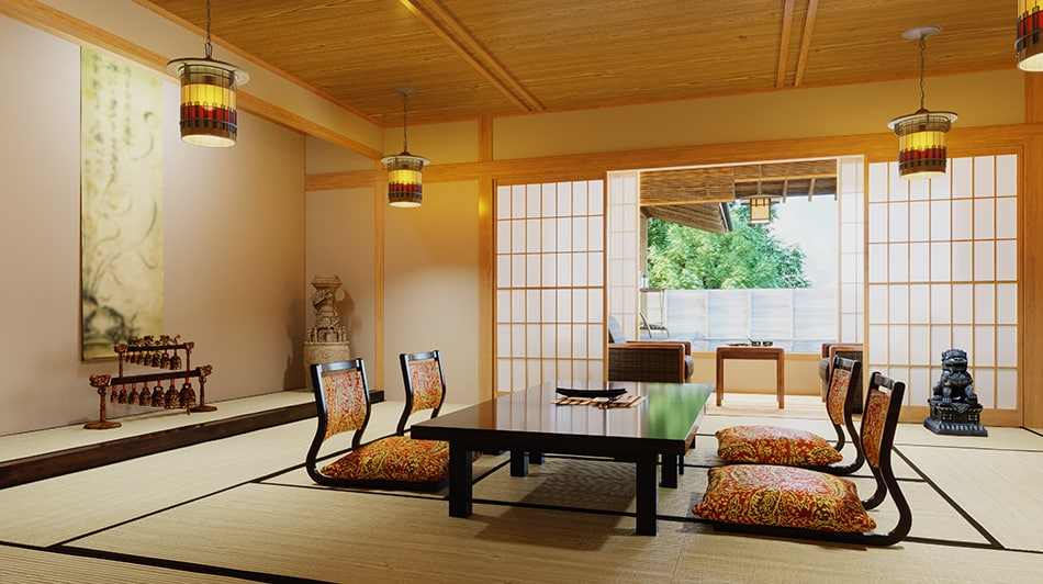 How to Decorate Your Dining Room in Japanese Style