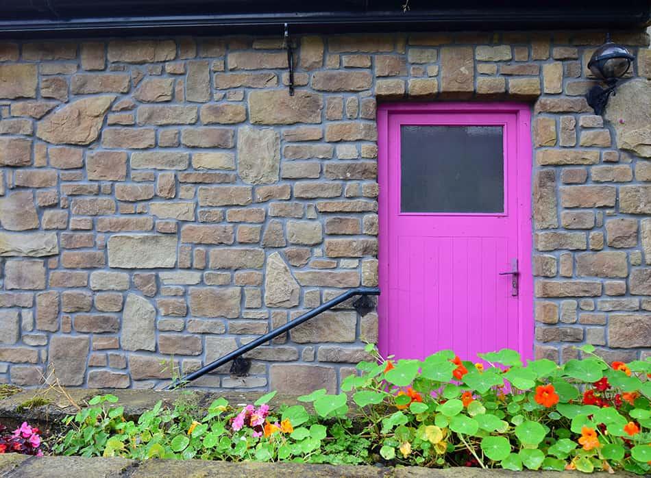 Light Pink on Stone
