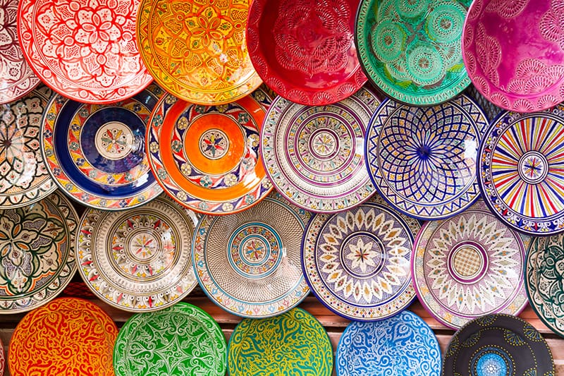 Moroccan Decorating with Arts and Crafts