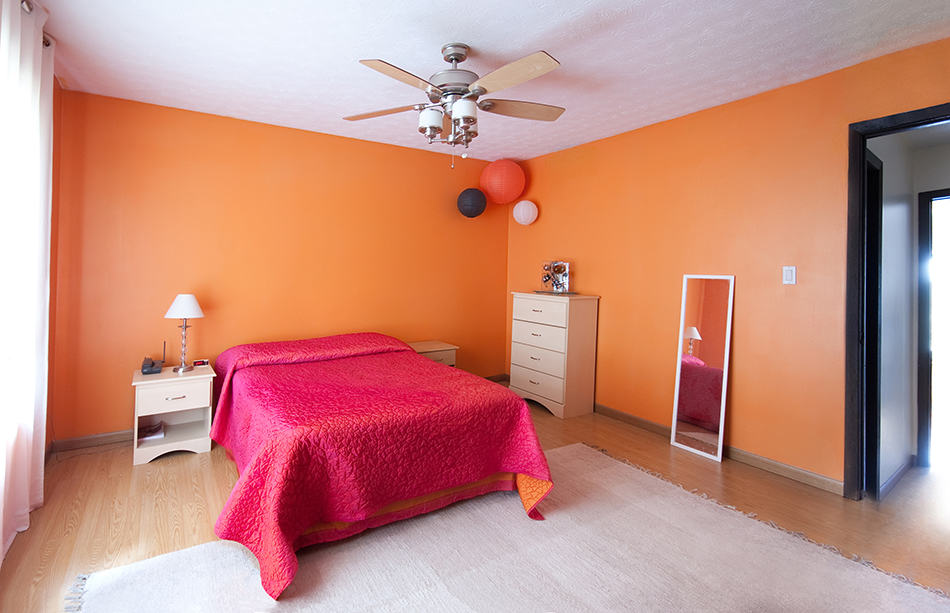 Orange with Pink as a Louder Alternative