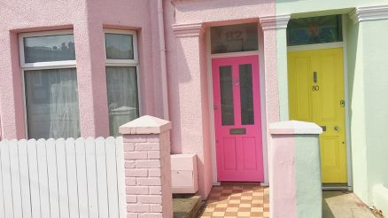Pink Front Door Ideas
