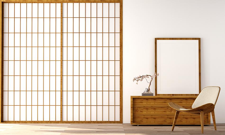 Shoji Screens to Separate Spaces