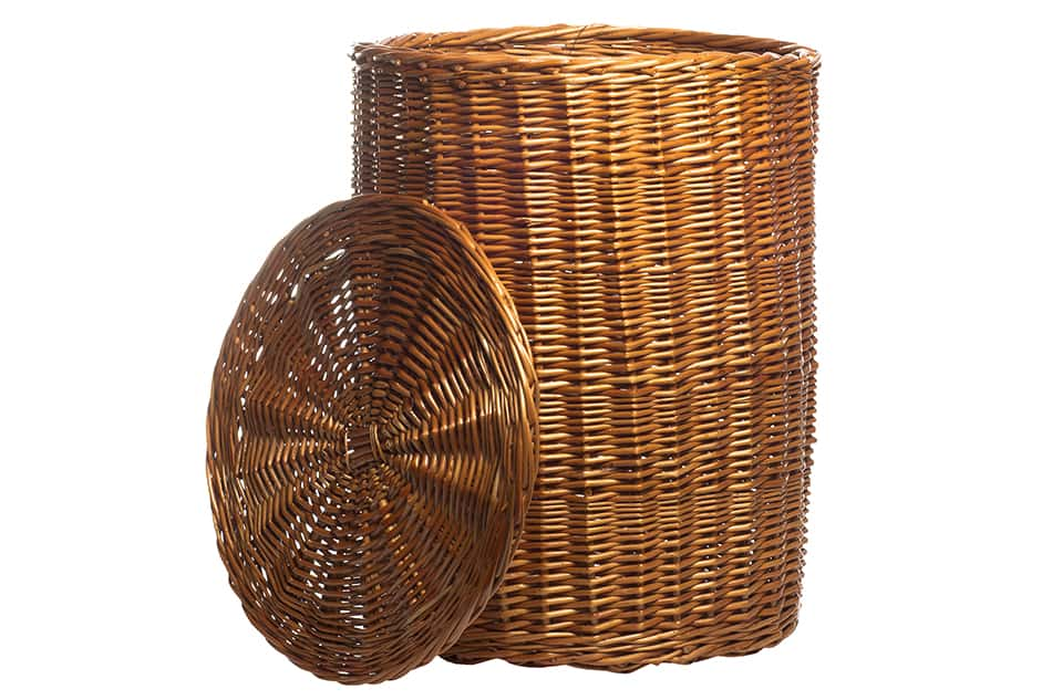 Tall Baskets with Lids