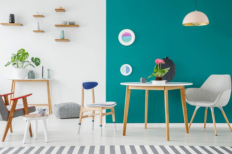 Teal and Grey for Lustre