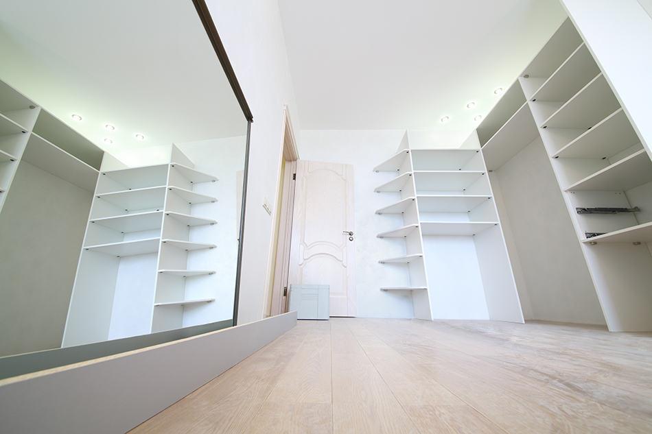 Wall-mounted Open Shelves