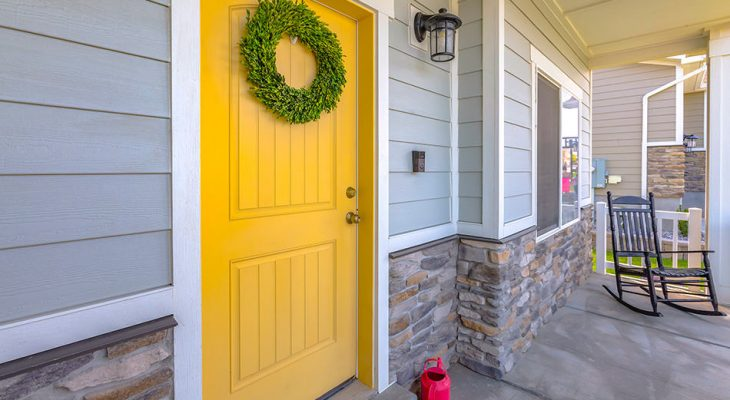 Yellow Front Door Ideas