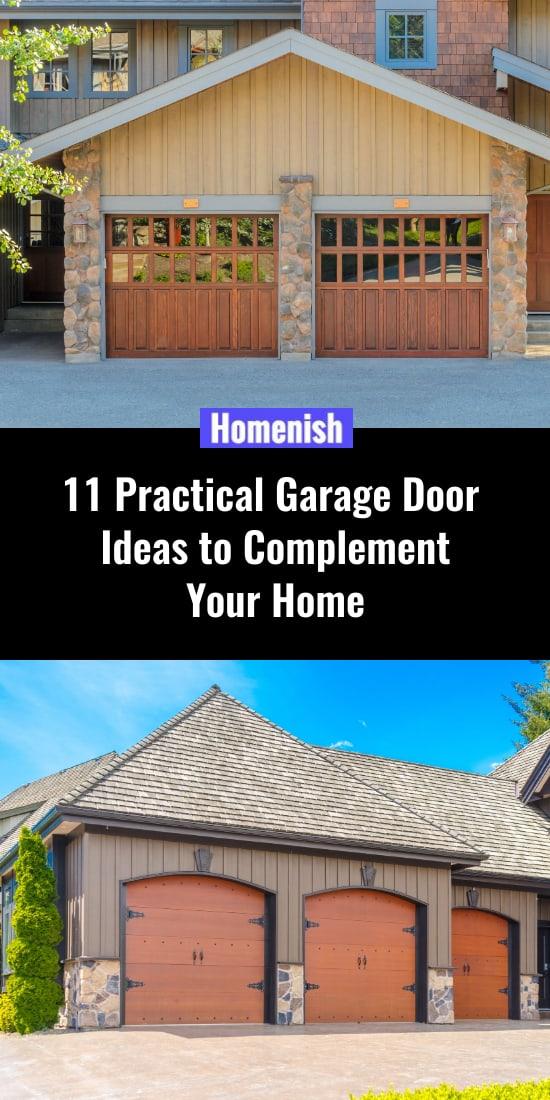 11 Practical Garage Door Ideas to Complement Your Home