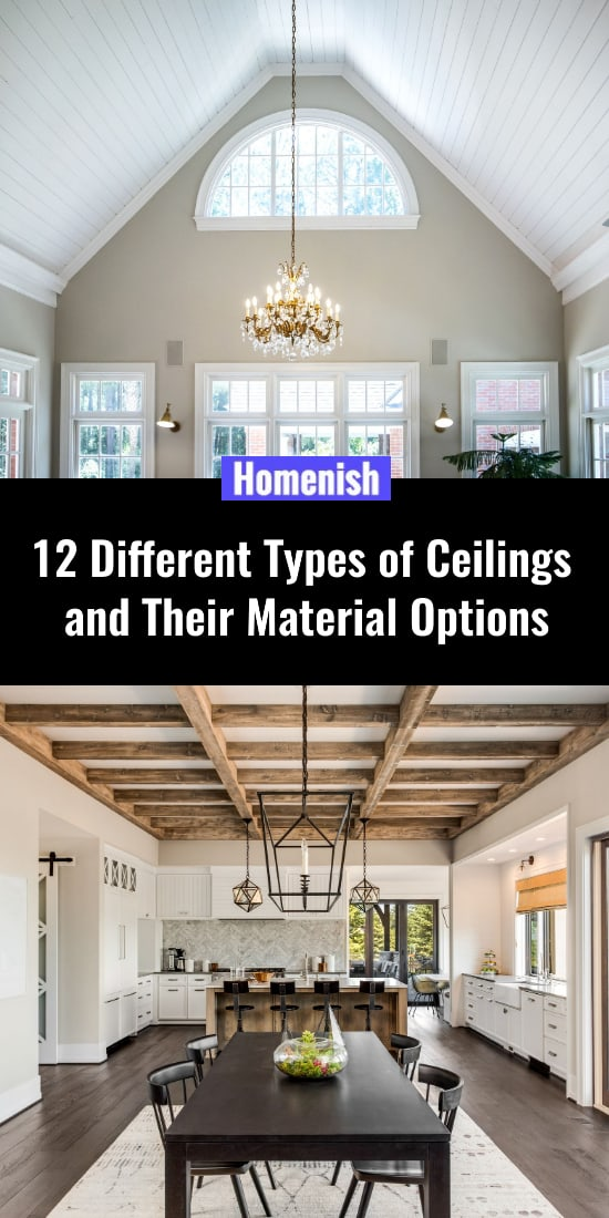 12 Different Types of Ceilings and Their Material Options
