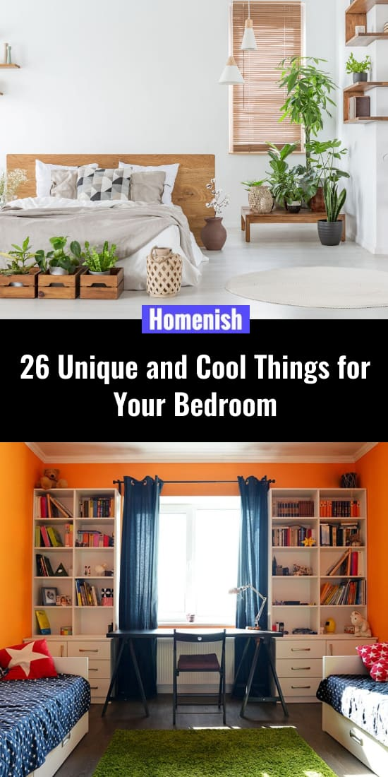 26 Unique and Cool Things for Your Bedroom