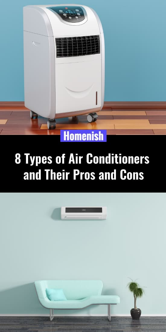 8 Types of Air Conditioners and Their Pros and Cons