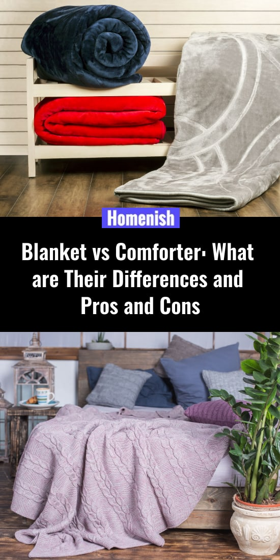 Blanket vs Comforter What are Their Differences and Pros and Cons