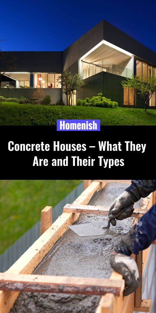 Concrete Houses – What They Are and Their Types