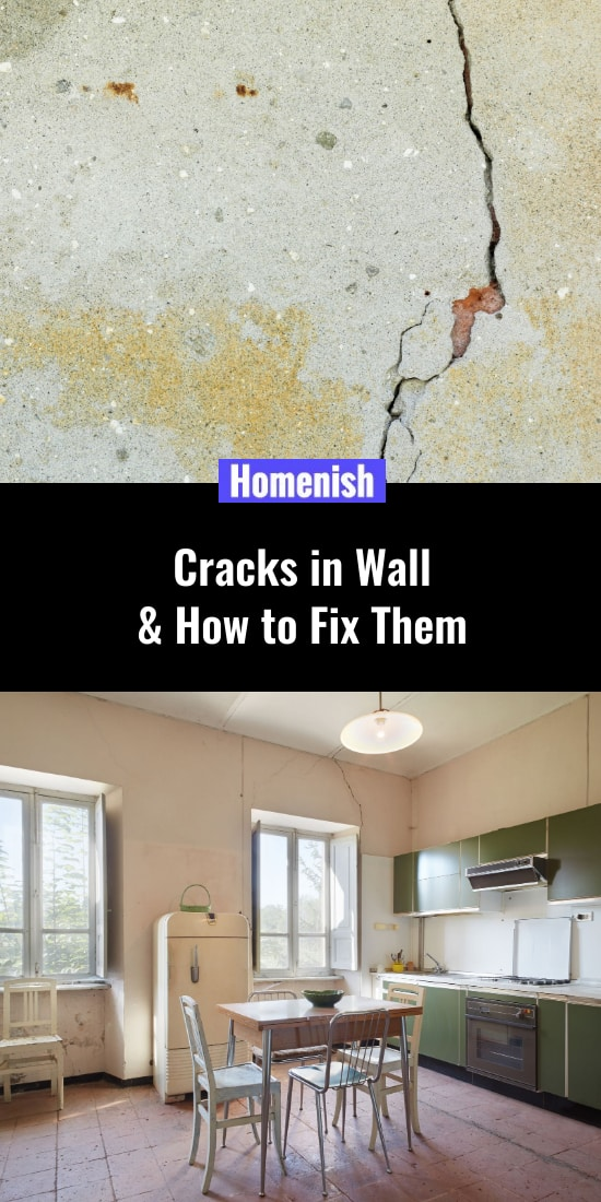 Cracks in Wall & How to Fix Them