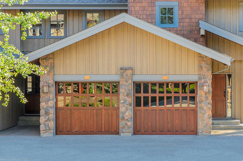 Custom-Designed Garage Door