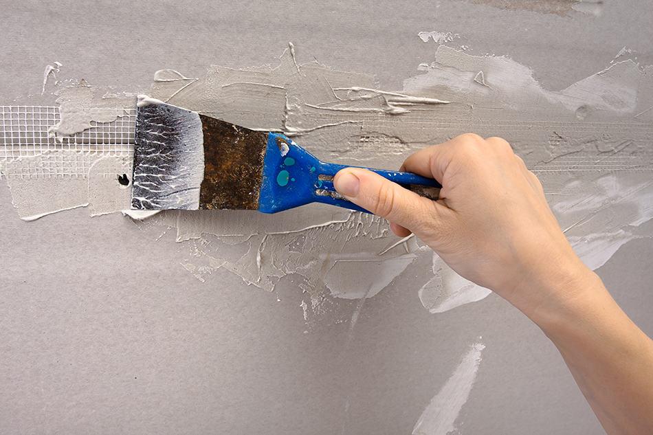 Fix Hairline Cracks in Plaster Walls