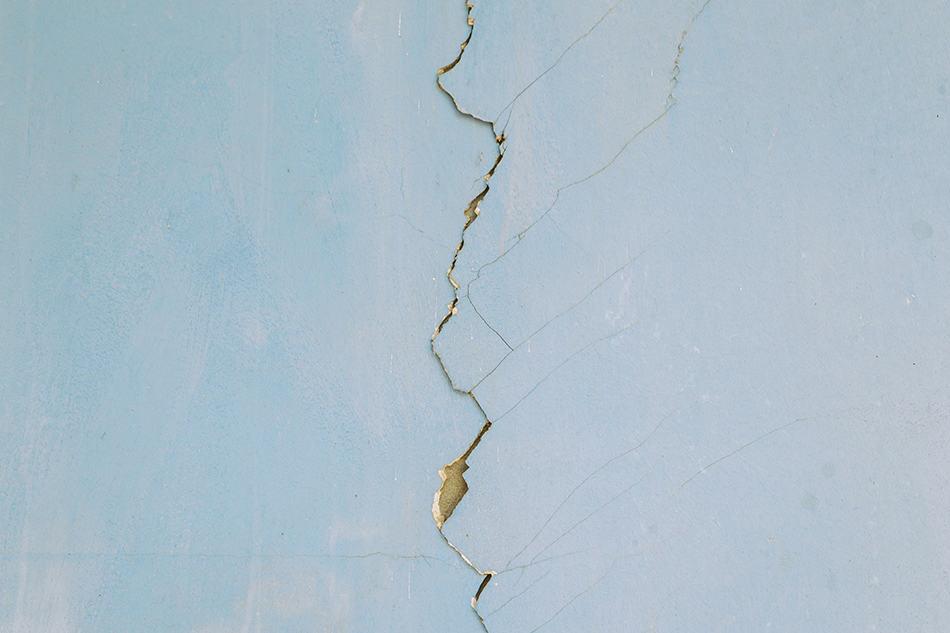 Minor Cracks in Drywall