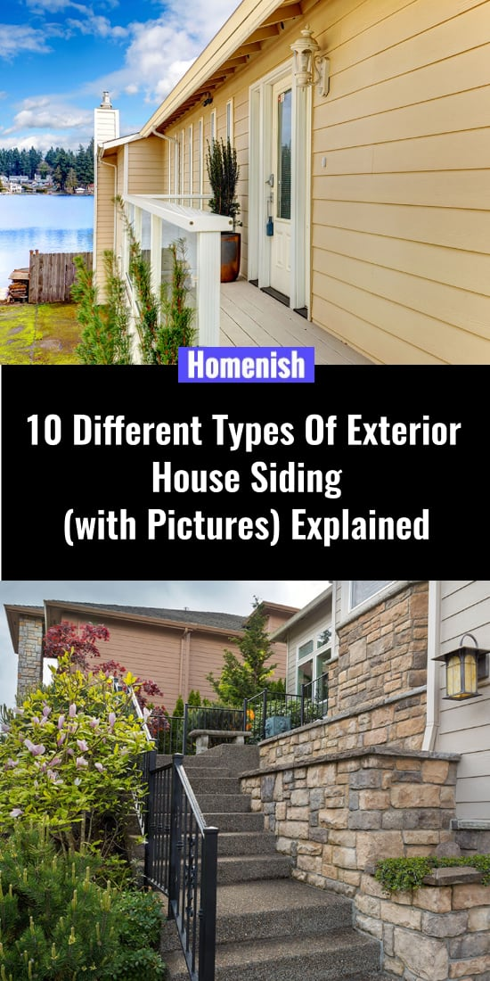 10 Different Types Of Exterior House Siding (with Pictures) Explained