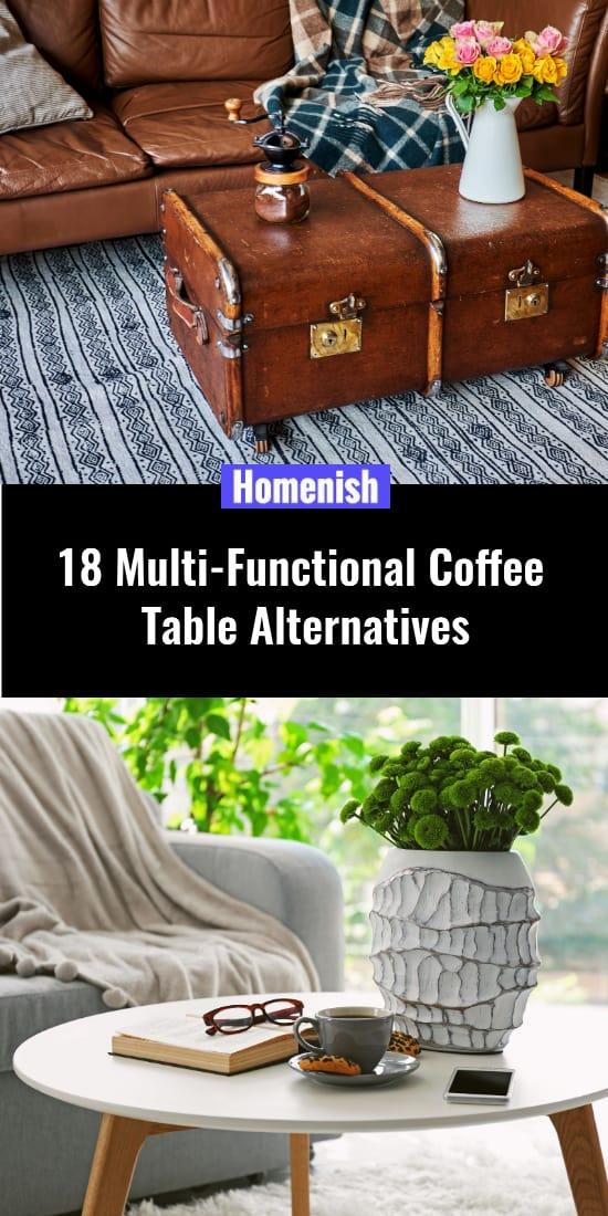 18 Multi-Functional Coffee Table Alternatives