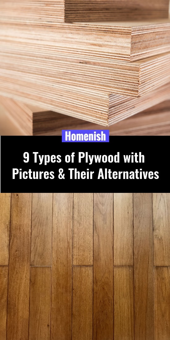 9 Types of Plywood with Pictures & Their Alternatives