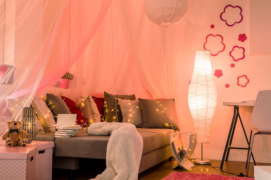 Add Magic with Fairy Lights and Lanterns