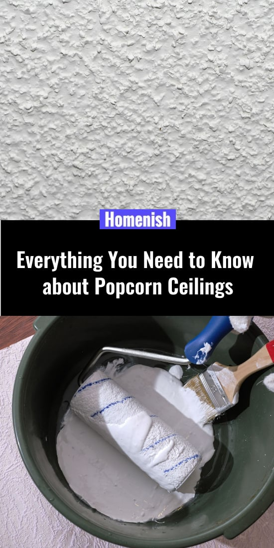 Everything You Need to Know about Popcorn Ceilings
