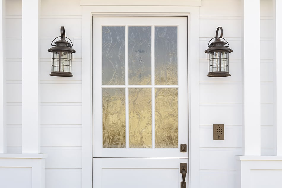 Frosted or Etched Glass