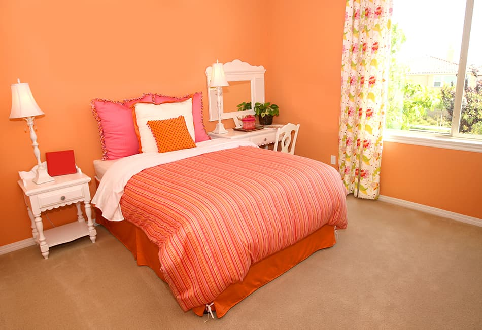 Go All Out with Orange and Pink