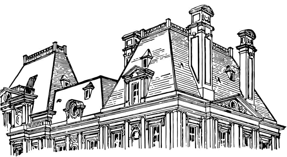 Quick History of Mansard Roofs