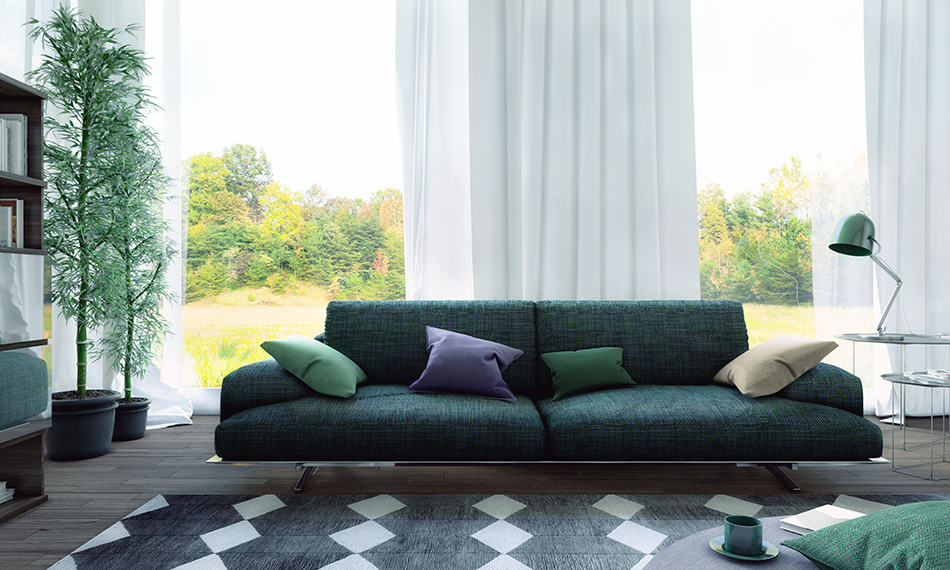 Sectional Sofa as a Focal Point
