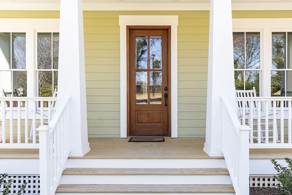 Single Glass Door