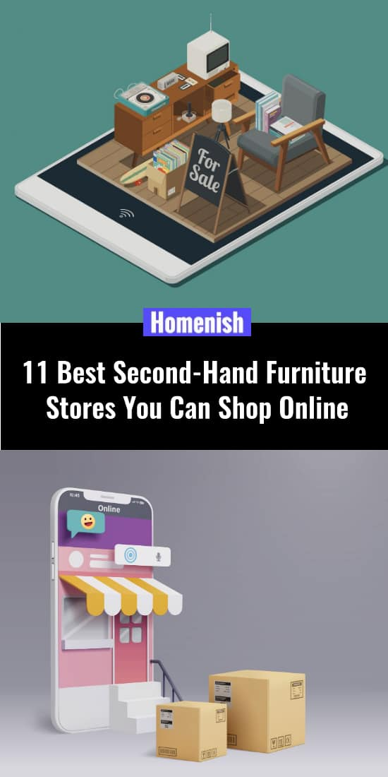 11 Best Second-Hand Furniture Stores You Can Shop Online
