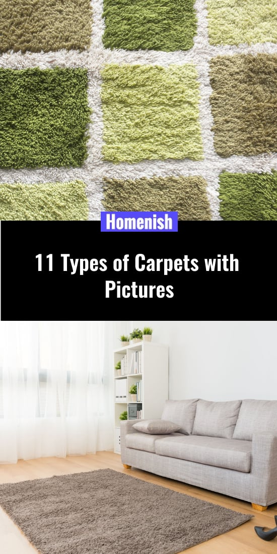 11 Types of Carpets with Pictures