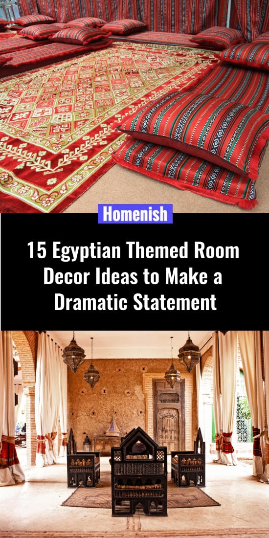 15 Egyptian Themed Room Decor Ideas to Make a Dramatic Statement