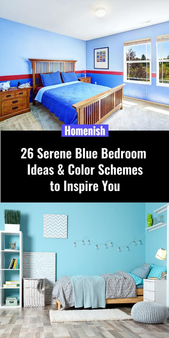 26 Serene Blue Bedroom Ideas & Color Schemes to Inspire You