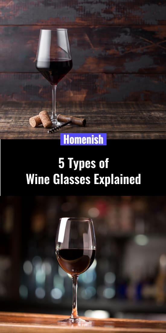 5 Types of Wine Glasses Explained