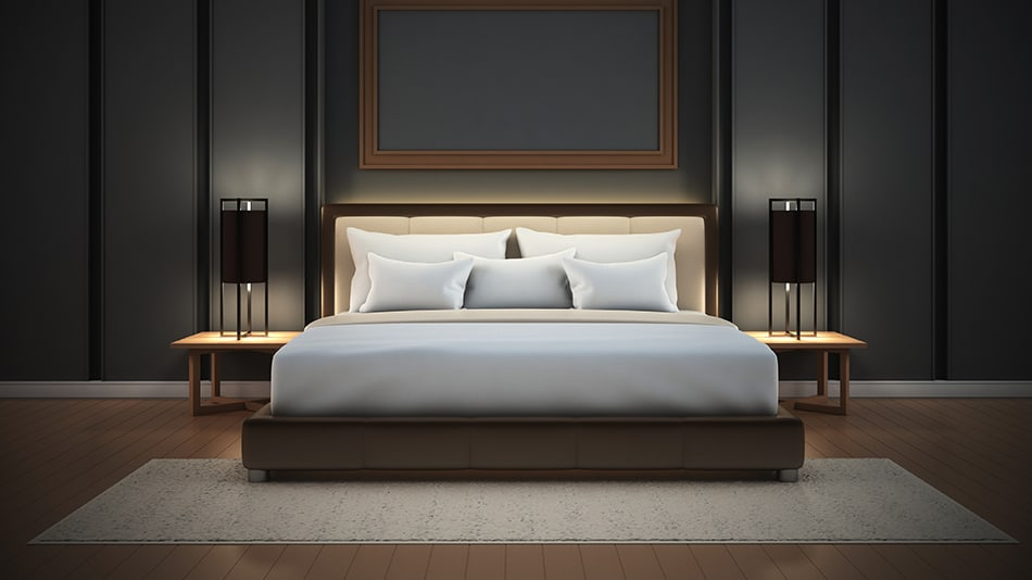 Choose a Low-Profile Bed