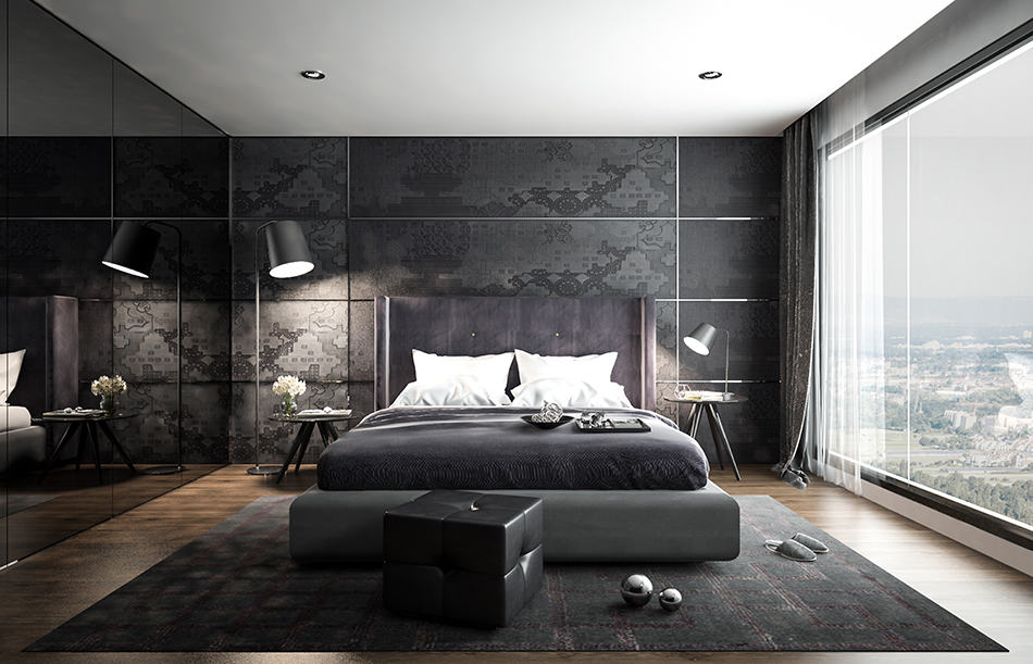 Create Mystery With Dark Colors