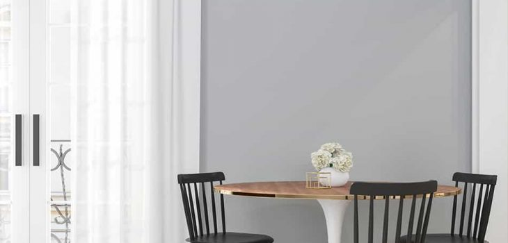 Best Curtain Colors for Grey Walls