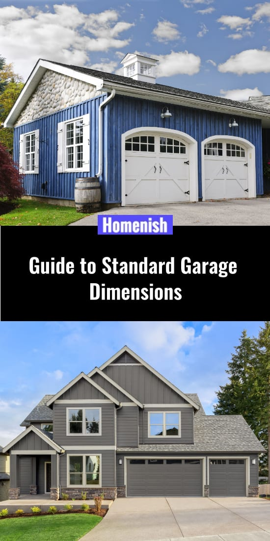 Guide to Standard Garage Dimensions