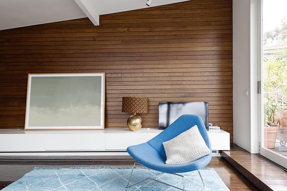 Horizontal Wood Panels