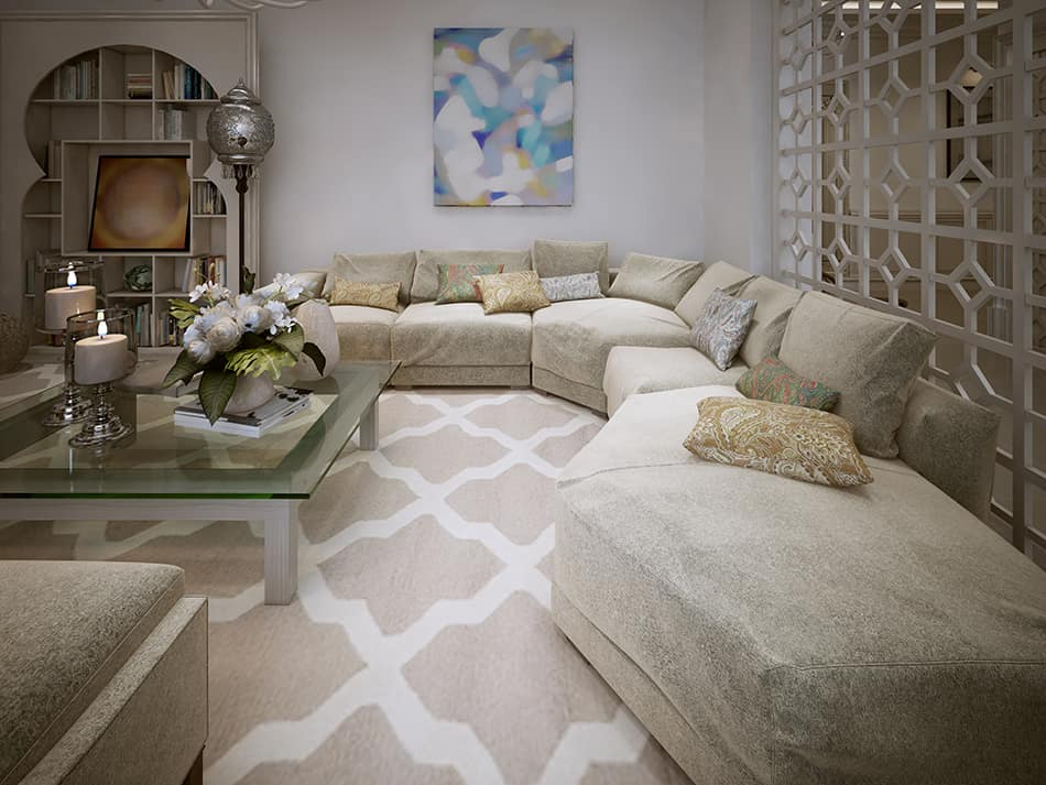 Oversized Furniture to Draw Attention