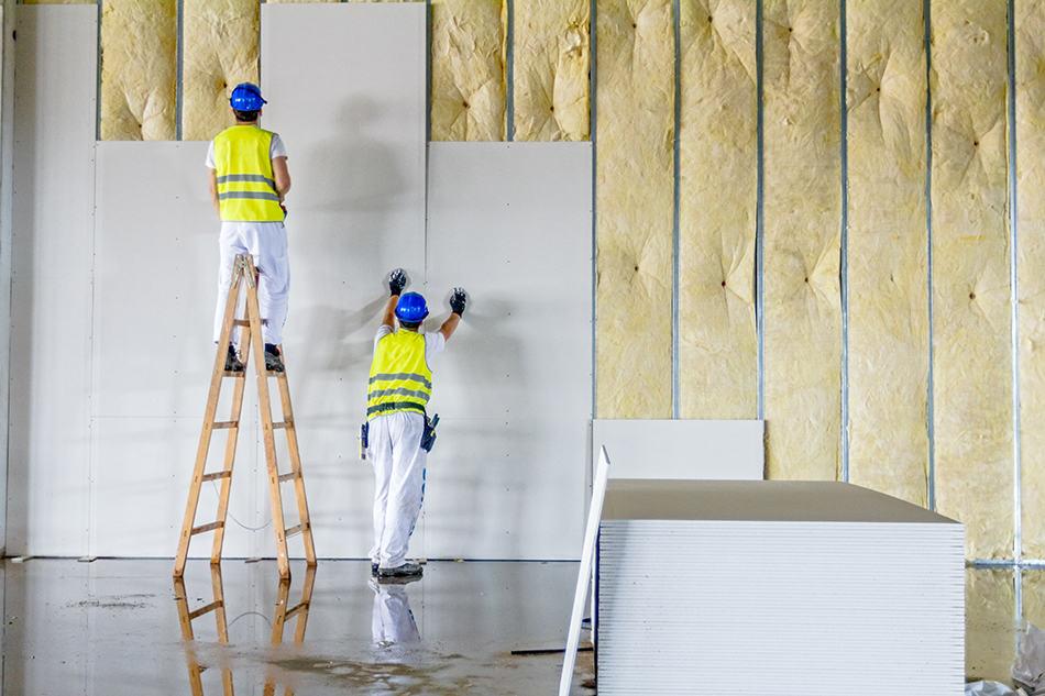 Reinforced Fiberglass and Gypsum Panels