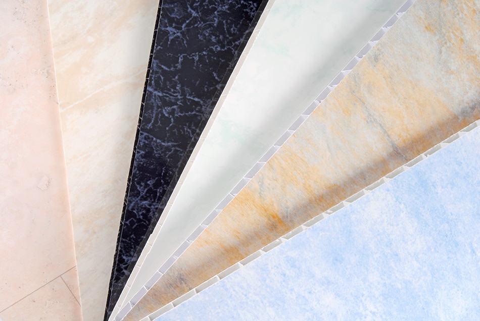 Textured PVC Wall Panels