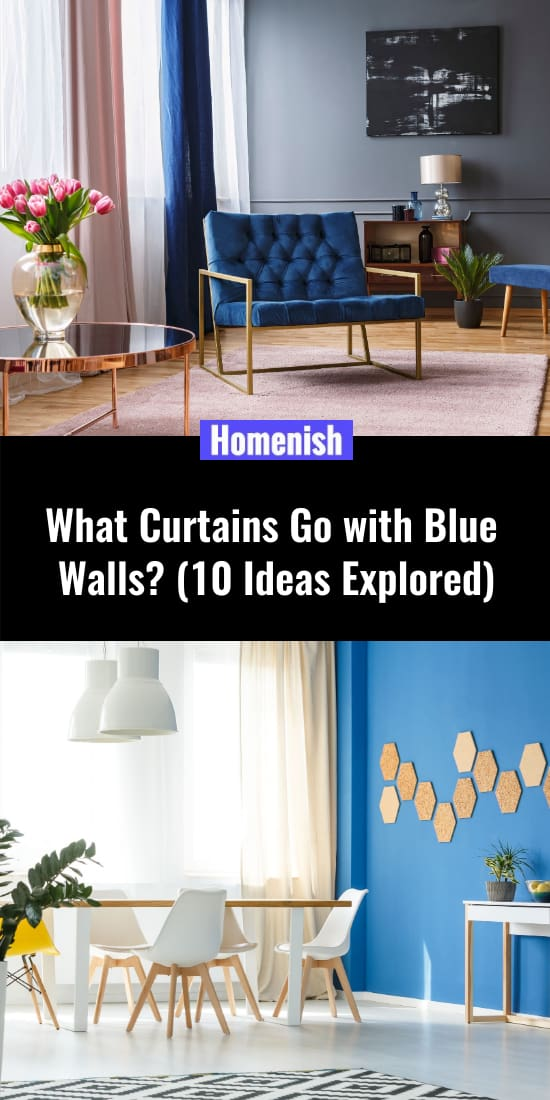 What Curtains Go with Blue Walls (10 Ideas Explored)