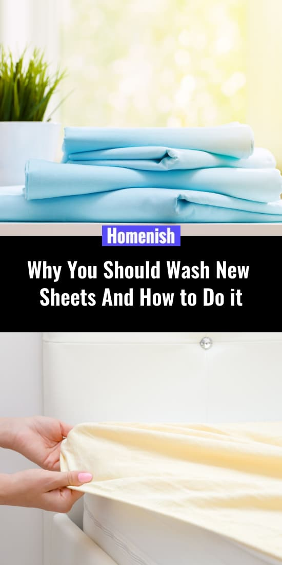 Why You Should Wash New Sheets And How to Do it