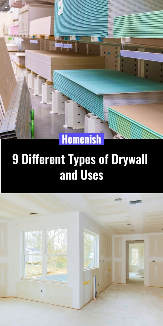 9 Different Types of Drywall and Uses