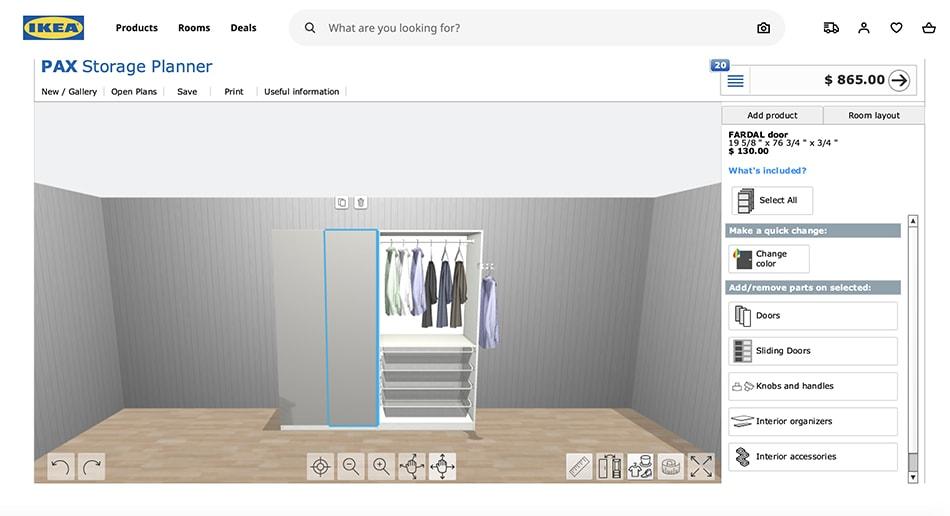 IKEA Pax Planner