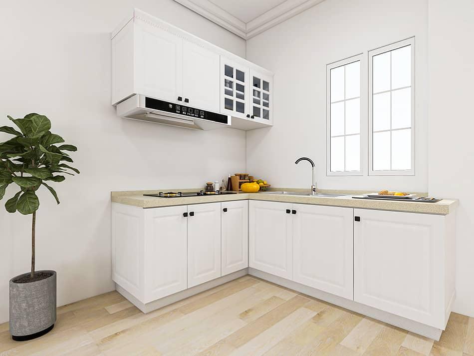 Kitchen Cabinet Color Makeover